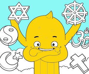 раскраски Религия