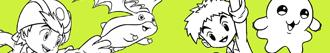 раскраски Digimon