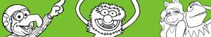 раскраски Muppet