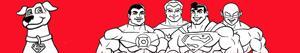 раскраски Super Friends