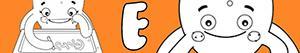 раскраски Имена для девочек с буквой E